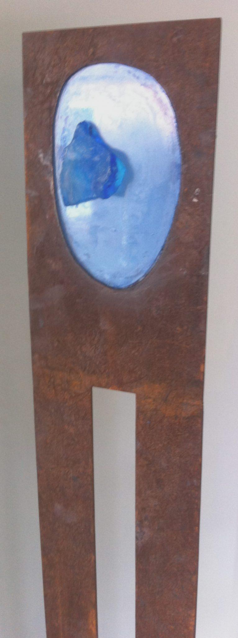 Blauw blood - Glass+Steel
