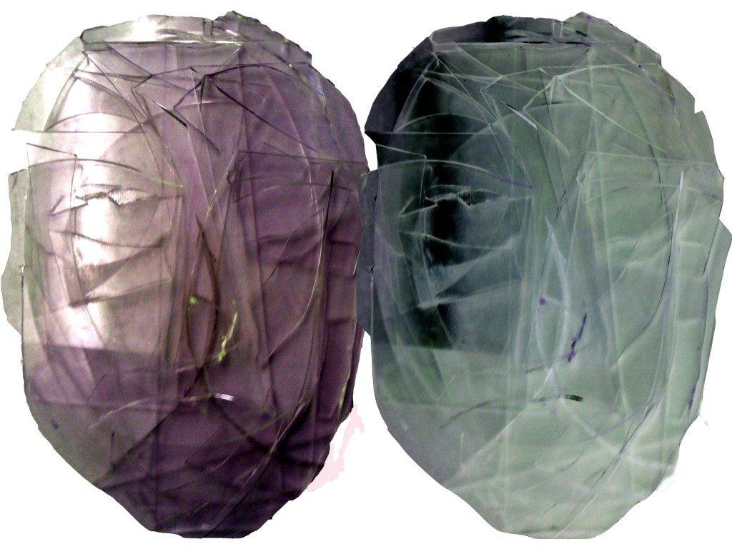 Twee - Glass - Alexandra Meerdink, beeldende kunst